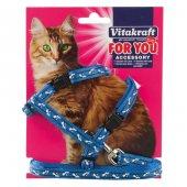 Vitakraft Yetişkin Kedi Göğüs Tasması (3 Renk)