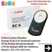 Canon 760d İçin Rc 6 Rc6 Kablosuz Uzaktan Kumanda