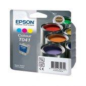 Epson T041 Renkli Orjinal Kartuş