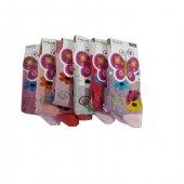 Ertuğ Kız Çocuk Çorap 6 Lı Paket Asorti