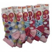 Ertuğ Kız Çocuk Patik Kısa Çorap 6 Lı Paket