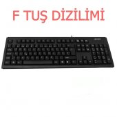 A4tech Km 720 F Usb Kablolu Siyah Standart F Klavye