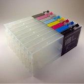 Epson 9600 7600 4000 Uyumlu Kolay Dolan Kartuş 8 Renk