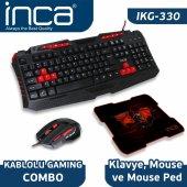 ıkg 330 Gamıng Combo Set (Gamıng Klavye+ Mouse+ Mousepad)