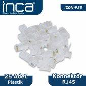 ıcon P25 Inca Rj 45 25 Adet Plastik Konnektör