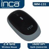 ınca Iwm 131 2.4ghz 1600 Dpi Kablosuz Nano Alıcılı Mouse