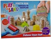Play Sand Kinetik Kum Havuzu Ve Kalıpları+kinetik Kum Hediyeli