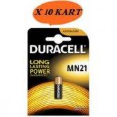 Duracell Lityum Mn21 * 10 Kart