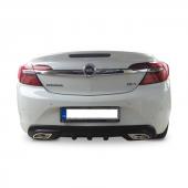 Opel İnsignia 2009 2016 Egzoz Görünümlü Arka Tampon Eki Difüz