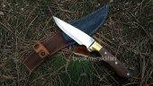 Av Bıçağı El İşçiliği 25,5cm Kök Ceviz