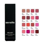 Sensilis Velvet Satin Comfort Lipstick Yoğun Nemlendirici Ruj 208
