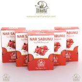 5 Adet Osmanlı Sabunları Nar Sabunu 100gr