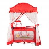 Crystal Baby Cenova Oyun Parkı 70x110 Kırmızı