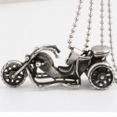 Frilly Motosiklet Çelik Kolye (Fkk273az)