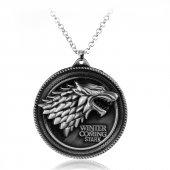Frilly Game Of Thrones Stark Winter İs Coming Kolye (Fkk170201)