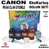 Canon E514 Ekokartuş Dolum Seti Pg84 Cl94 4x50ml