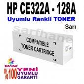 Hp Pro Cp1525 Cm1415 Sarı Muadil Toner Ce322a 128a