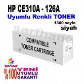 Hp Pro Cp1025 M175 Siyah Muadil Toner Ce310a 126a