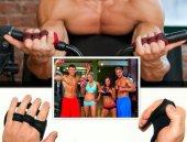 Kaydırmaz Terletmez Sporcu Fitness Eldiveni