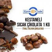 Koza Kestane Şekeri Aromalı Sıcak Çikolata 1000 Gr...