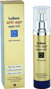 Lubex Anti Age Night Rich Yüz Kremi 50 Ml