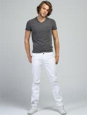 Senegal 301 Beyaz Erkek Pantolon
