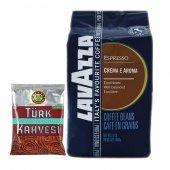 Lavazza Espresso Crema E Aroma 1 Kg + Kahve Dünyası Türk Kahvesi