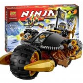 Be La Ninja Lego Seti 10394 Siyah Dev Motosiklet