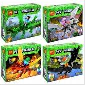 Lele 33072 Minecraft My World Lego Seti (4 Farklı Seçenek)