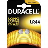 Duracell Lityum Lr44 1,5 Volt Düğme Pil 2 Li