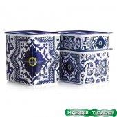 Tupperware Su Çini Set 3lü (Saklama Kabı) Hsgl