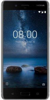 Nokia 8 Cep Telefonu Gümüş
