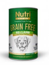 Nutri Canine Tahılsız Kuzulu Patatesli Köpek Konservesi 400 Gr