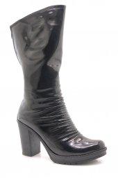 Alinda L2201 Rugan Platform Topuk Kadın Çizme