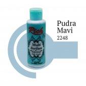 Rich Multi Surface 2248 Pudra Mavi Akrilik Boya 130 Cc