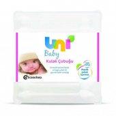 Uni Baby Emniyetli Kulak Çubuğu 60 Lı