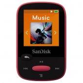 Sandisk Clip Sport 8gb Mp3 Player, Pink