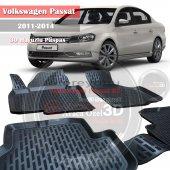 Volkswagen Passat Paspas 3d Havuzlu Model 2011 2014 B7