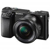 Sony Alpha A6000 16 50 Mm Aynasız Dijital Fotoğraf Makinesi Siyah