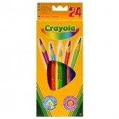 Crayola 24 Renk Kuruboya Kalemi