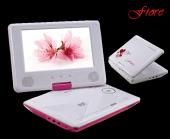 Goldmaster Fiore Portable Dvd Oynatıcı Pembe