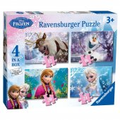 Ravensburger 4 İn A Box Puzzle Wd Frozen