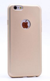 Iphone 7 Kılıf Gold Pastel Mat Silikon