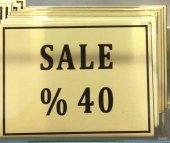 Icemen %40 İndirim Metal Vitrin Görseli
