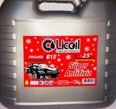 Licoil Organik G12 Kırmızı Antifriz 15kg Bidon (25 Derece)
