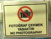 Icemen Fotoğraf Çekmek Yasaktır Metal Vitrin Görseli