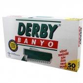 Derby Tek Bıçaklı Banyo Bıçağı 50 Adet