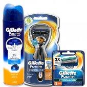 Gillette Fusion Proglide Flexball 1up Tıraş Makinesi +2 Yedek+jel