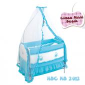 Happy Baby Class Ninni Beşik (Mavi)