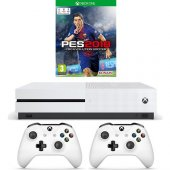 Xbox One S 500gb + 2.kol+pes 2018